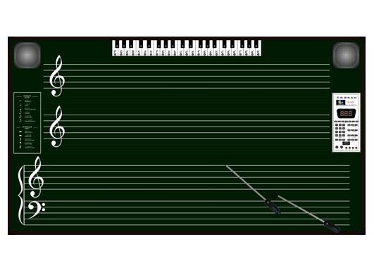 成都歌谱钢琴数字